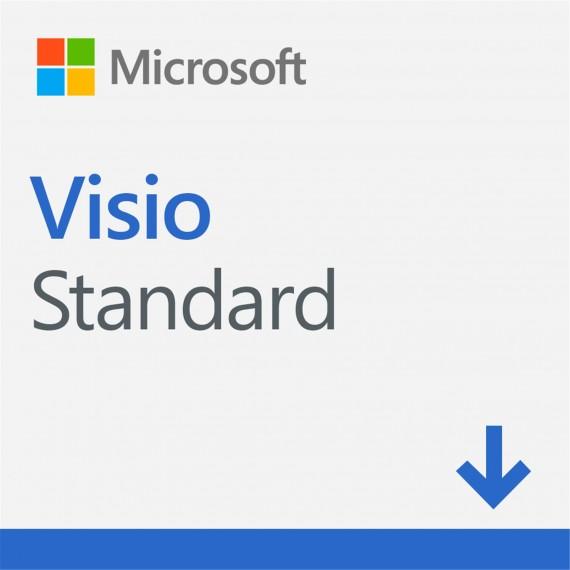 Microsoft Visio Standard 2019 ESD D86-05822