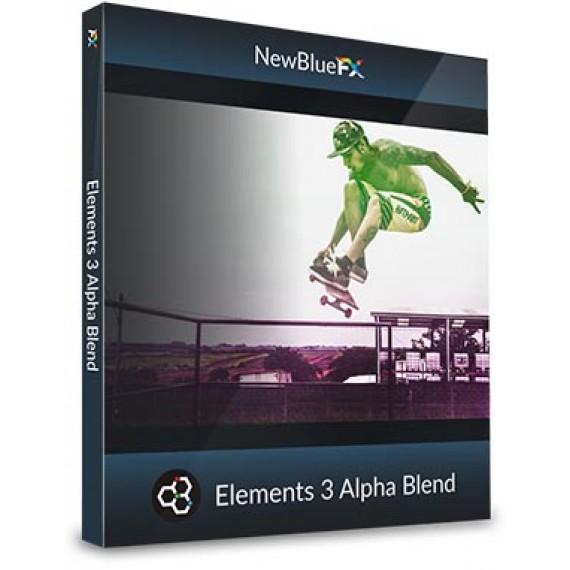 NewBlueFX Elements 3 Alpha Blend