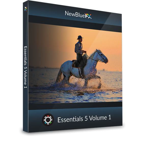 NewBlueFX Essentials 5 Vol. 1
