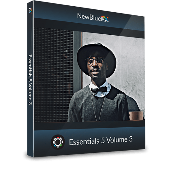 NewBlueFX Essentials 5 Vol. 3