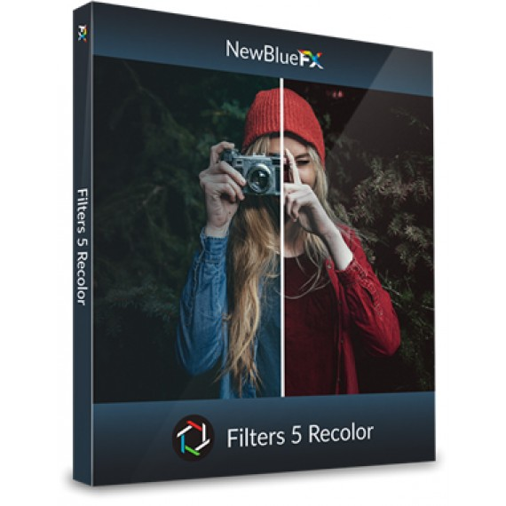 NewBlueFX Filters 5 Recolor