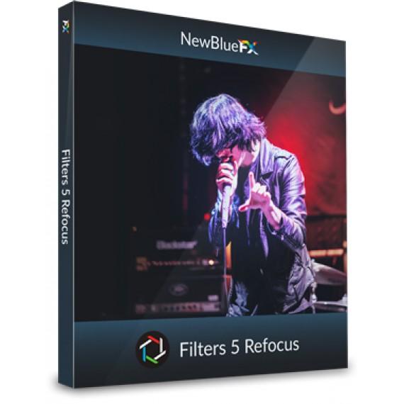 NewBlueFX Filters 5 Refocus