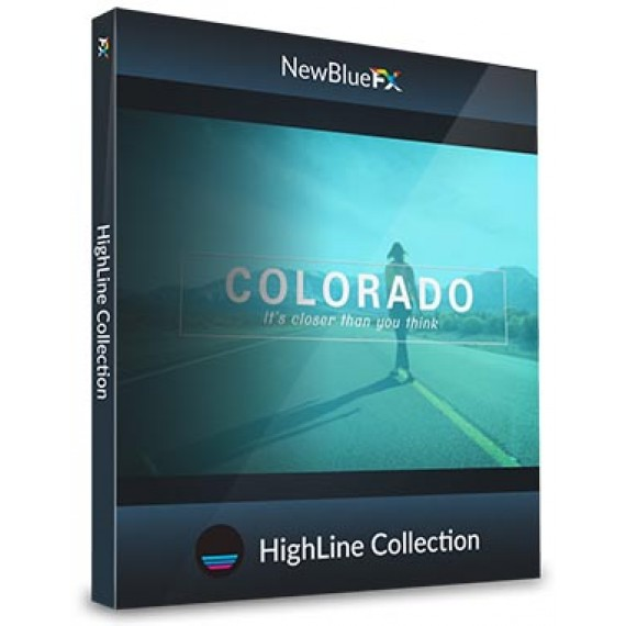 NewBlueFX HighLine Collection