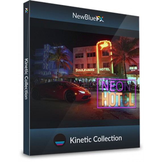 NewBlueFX Kinetic Motion Pack