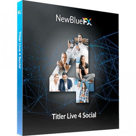 NewBlueFX Titler Live 4 Social
