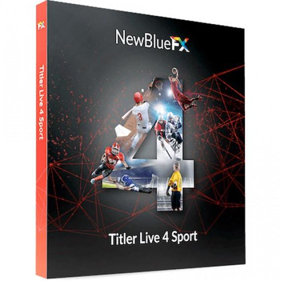 NewBlueFX Titler Live 4 Sport