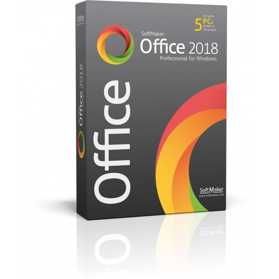 SoftMaker Office Professional 2018 para Windows Empresarial 10PCs