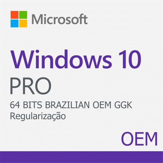 Windows 10 Pro GGK 64 Bits