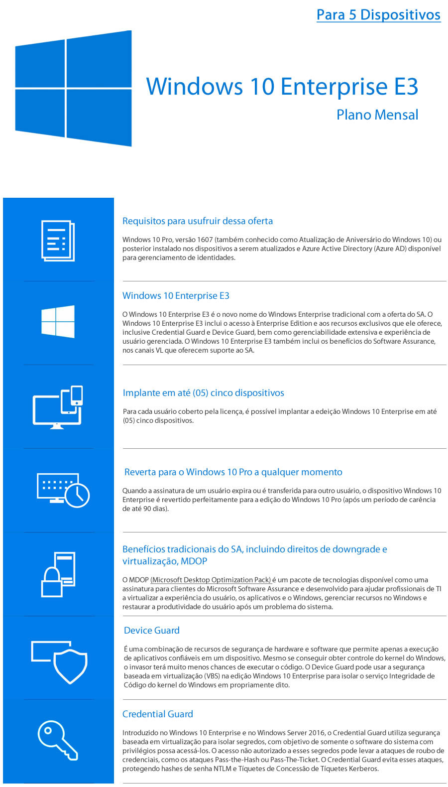 Windows 10 Enterprise E3 - CSP